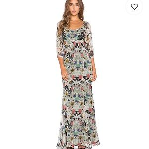 Twelfth Street Cynthia Vincent Floral Maxi Dress
